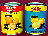 Trinidad Orange Juice and Trinidad Grapefruit Juice.  Check out our full line of Trinidadian food and Trinidadian drinks.